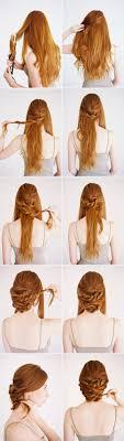 step by step twist hairstyles bridal hairstyle low twisted updo bridal hair tutorial 100