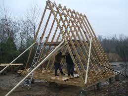 a frame cabin kits south east domes a frame homes