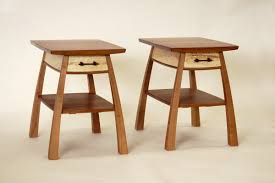 Bedside Table Designs by Bulging Bedside Table One Drawer Steven White Woodworking