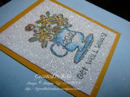 more glitter cards bejewelled creations