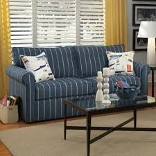 Living Room With Blue Sofa Patterned U0026 Printed Sofas You U0027ll Love Wayfair