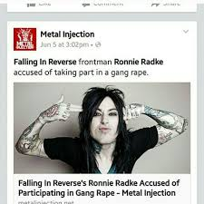 Falling In Reverse Memes - bad humor music official metal instagram photos and videos