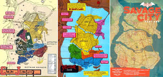 map of dc universe usa the cartographer who mapped out gotham city arts culture