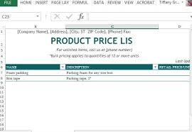 Bom Template Excel Product List Template Prince2 Management Product List Prince2
