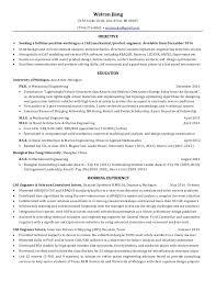 Failure Analysis Engineer Resume Resume Weiranjiang