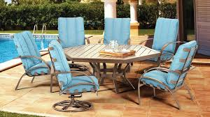 hexagon patio table and chairs top 10 large outdoor dining sets seating for 6