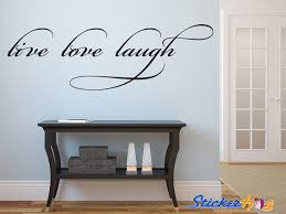 live laugh love vinyl wall decal graphic wall saying vinyl decal