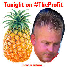 Ananas Pineapple Meme - dan levy algiers on twitter watching the profit tonight and