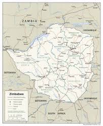 Africa Map Rivers Zimbabwe Africa Maps Contcult Analepsis
