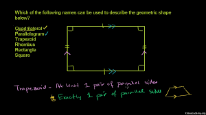 quadrilateral properties video shapes khan academy