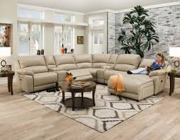 Levin Furniture Robinson by Sofa Loretto 7 Piece Reclining Sectional Java Levin Furniture Sofa