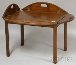 butler table with tray search all lots skinner auctioneers
