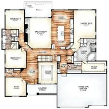 open floor house plans with loft unique house plans with open floor plans open floor plan pictures