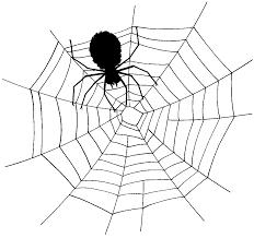 spider images halloween no background spider web clip art clipartix