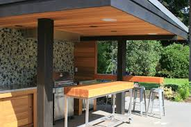 Outdoor Kitchen Roof Ideas by Outdoor Kitchen Bar Kitchen Decor Design Ideas