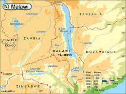 africa map malawi serve in malawi with expeditions