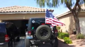 Rv Flag Poles Jeep Flag How To Youtube
