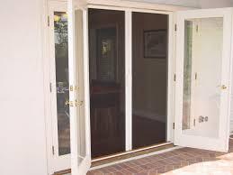 screen door for french doors home interior design