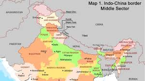New Delhi India Map by The History Of Sino Indian Relations And The Border Dispute