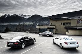 bentley flying spur vs mercedes benz s600 vs rolls royce ghost