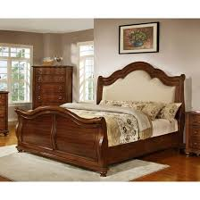 Platform Sleigh Bed Bedroom King Size Sleigh Bed Magnificent Upholstered Platform