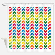 Multi Colored Curtains Bright Multi Colored Designs Shower Curtains Cafepress