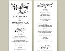 wedding reception program template images of wedding reception program template wedding ideas