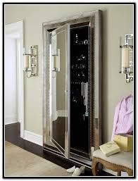 floor mirror with jewelry storage home design ideas