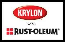 life on mars krylon vs rustoleum spray paint comparison