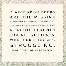 large print books for elderly large print for reluctant readers the gale