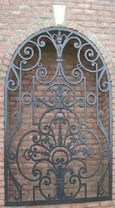 Faux Wrought Iron Wall Decor Edgar Brandt Arabesque Wrought Iron Door Gate C 1927 28 Design