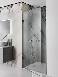 Shower Door Pivot Bathrooms Design Tempered Glass Shower Door Frameless Glass