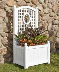 vinyl planter boxes from walpole woodworkers