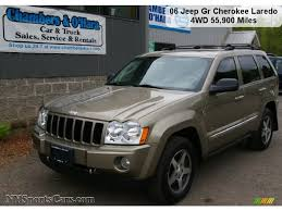 2006 jeep grand cherokee laredo 4x4 in light khaki metallic