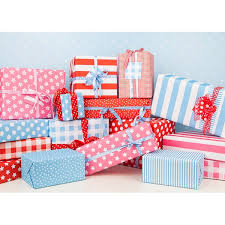 gingham wrapping paper pink or blue baby reveal wrapping paper zazzlecom pink blue