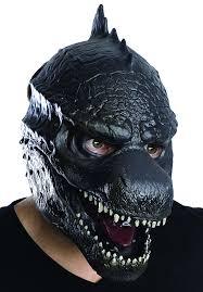 amazon com rubie u0027s costume men u0027s godzilla 3 4 vinyl mask