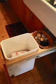 diy kitchen compost container trash backwards blog