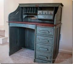 Desk Refinishing Ideas Best 25 Rolltop Desk Ideas On Pinterest Desk Makeover Diy Desk
