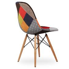 furniture wooden chair patchwork design icon chairs dsw
