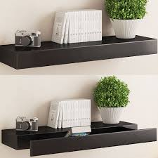 wall shelves amazon 10 amazing floating shelf with drawer to make your home fascinating