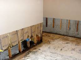basement wall restoration wet drywall repair central new york
