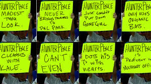 Hunter Pence Memes - post season hunter pence signs hunter pence signs sf giants