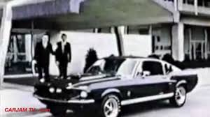 mustang carroll shelby 1967 ford gt350 mustang with carroll shelby commercial