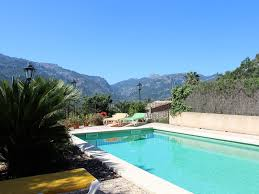 b10454 beautiful house in fornalutx with private pool and