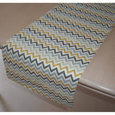 Grey Chevron Table Runner Chevron Table Runners Ebay
