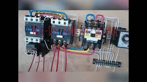 wye delta motor control youtube