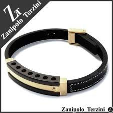 steel leather bracelet images Shinjuku gin no kura gold plate surgical stainless steel leather jpg