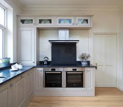single oven with glass upper cabinets kitchen traditional and door