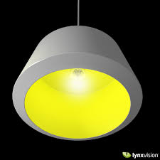 Yellow Pendant Lights Can Pendant Lamp By Zero 3d Model Cgtrader