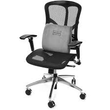 Ergonomic Office Chairs With Lumbar Support Adjustable Ergonomic Under Desk Foot Rest And Lumbar Support Pillow Se